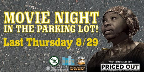 Movie Night in the Parking Lot! tickets