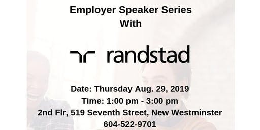 NEW WESTMINSTER Hiring Fair with RANDSTAD