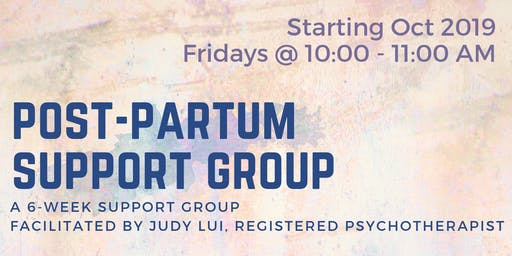 Pregnancy and Post-Partum Support Group