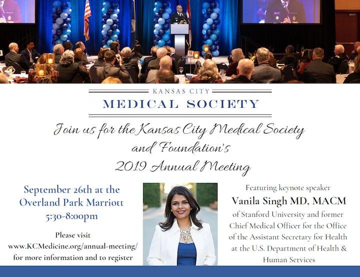 Kansas City Medical Society and Foundation Annual Meeting