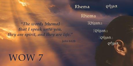 "Women of Worship 7 (WOW7) Conference ""RHEMA"" tickets"