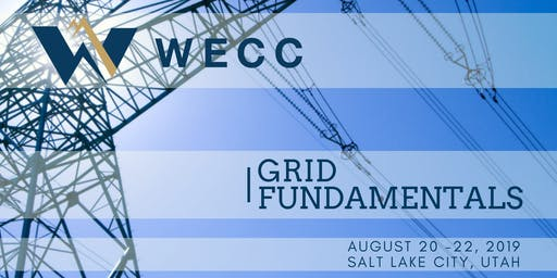 WECC Grid Fundamentals August 2019
