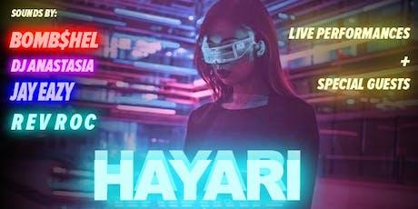 HAYARI tickets
