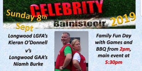 Celebrity Bainisteoir tickets