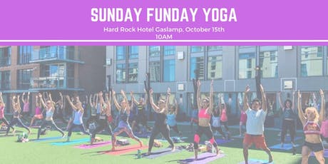Sunday Funday Yoga | Hard Rock Hotel tickets