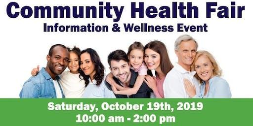 Free Community Health Fair