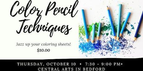 Color Pencil Techniques/Bedford tickets