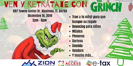 Retrátate con el Grinch esta Navidad tickets
