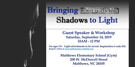 Bringing Shadows to Light (Human Trafficking/Self Defense Workshop) tickets