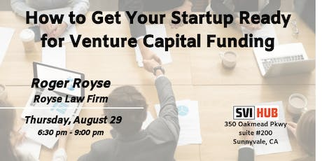 How to Get Your Startup Ready for Venture Capital Funding tickets