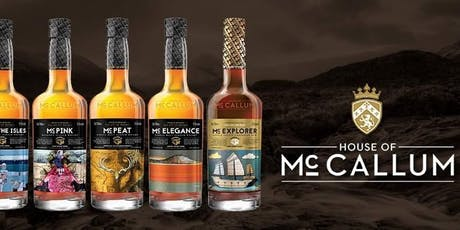 House of McCallum Whisky Tasting Sessions tickets