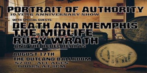 Portrait of Authority 10 Year Anniversary Show!