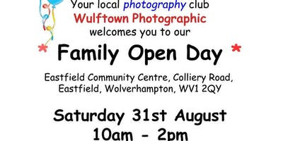 Wulftown Photographic Family Friendly Photography Open Day