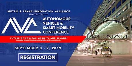 Autonomous Vehicle & Smart Mobility Conference tickets