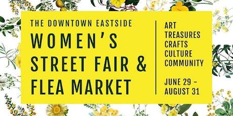 The 4th Annual Women's Street Fair & Flea Market tickets