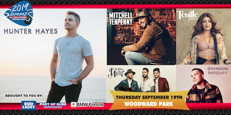 93.7 KISS Country Summer Concert Series featuring Hunter Hayes tickets