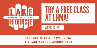 Come Try a free class at Lakehouse Music Academy! Ages 12-18