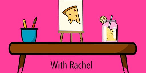 Pizza & Painting Party with Rachel at The Shed