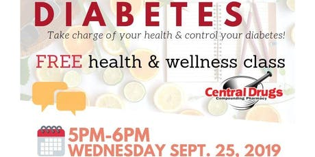 Diabetes Discussion: A Free Health  & Wellness Class tickets