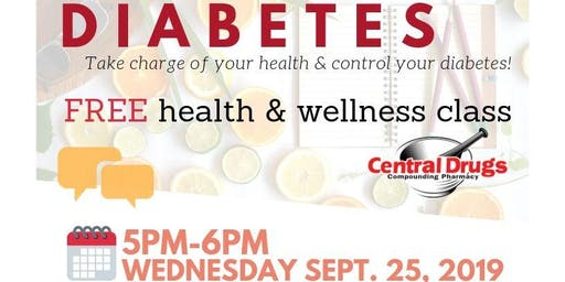 Diabetes Discussion: A Free Health  & Wellness Class