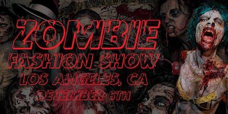 Zombie Fashion Show & Creature Art Exhibit tickets