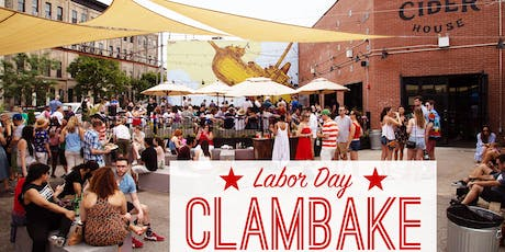 Labor Day at Brooklyn Cider House for our 2nd Annual Clambake! tickets