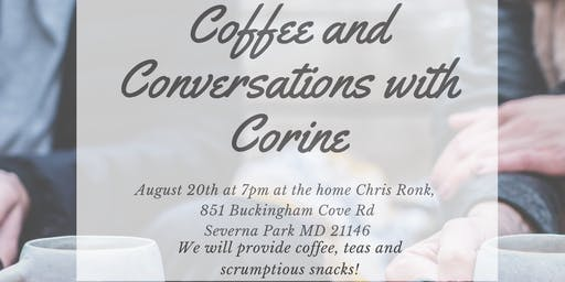 Coffee and Conversations with Corine