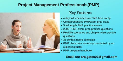 PMP Training in Calistoga, CA