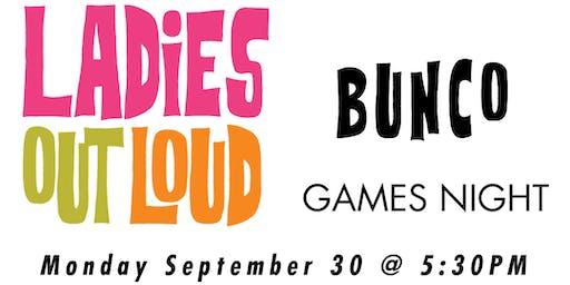 LOL Bunco Games Night (Non Members)