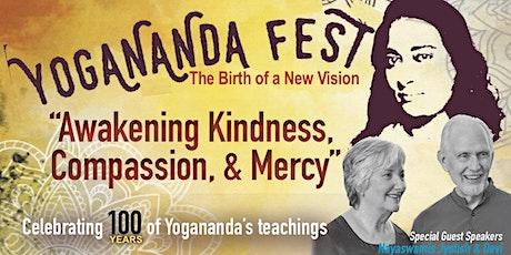 Yogananda Fest 2020: Awakening Kindness, Compassion & Mercy tickets