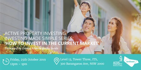 """Investing Made Simple Series """"How to invest in the current market"""" tickets"""