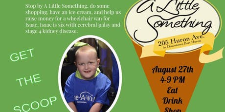 A Little Something Wheelchair Van Fundraiser tickets