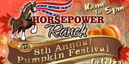 Horsepower Ranch 8th Annual Pumpkin Patch Luau Car Show
