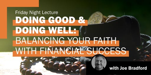Balancing Faith With Financial Success