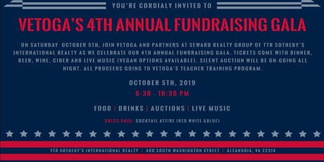 VETOGA's 4th Annual Fundraising Gala  tickets