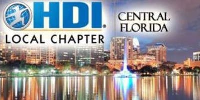 HDI Central Florida Chapter September Meeting