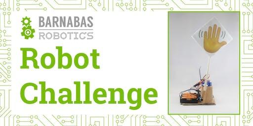 Robot Challenge Workshop (K-6th Grade)