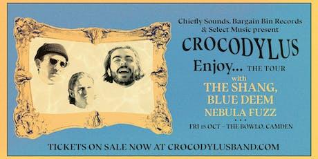 The Bowlo - Crocodylus/The Shang/Blue Deem/Nebula Fuzz tickets