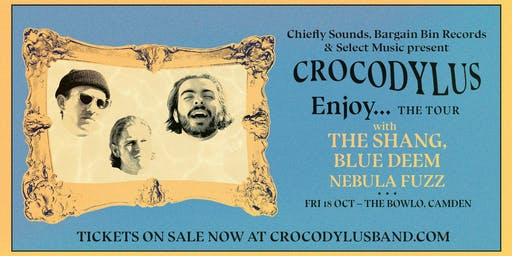 The Bowlo - Crocodylus/The Shang/Blue Deem/Nebula Fuzz