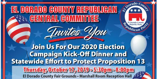 Trump 2020 Campaign Kick-Off & Protect Proposition 13 Dinner!