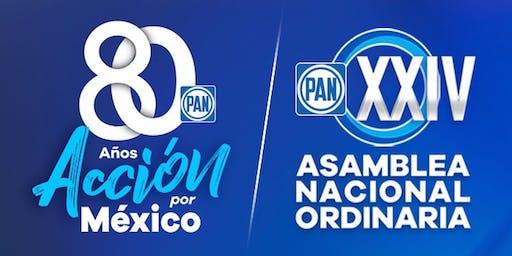 XXIV ASAMBLEA NACIONAL EXTRAORDINARIA DEL PAN