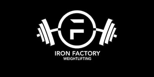 Iron Factory Fall Open at Paso Robles Sports Club