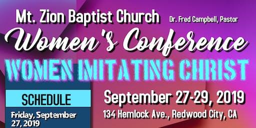 Mount Zion Baptist Church Women's Conference
