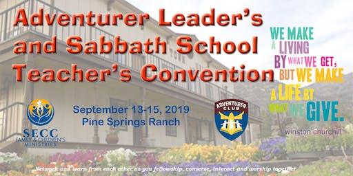 Adventurer Leader's and Sabbath School Teacher's Convention 2019