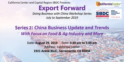 Export Forward - Doing Business with China Workshop Series 2