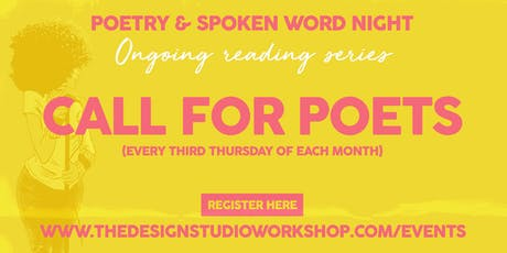 Call for Poets tickets