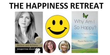 The Happiness Retreat with Paula Vail + Angelina Musik tickets