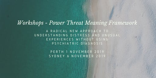 Power Threat Meaning Framework Workshop with Prof. David Pilgrim (Perth)
