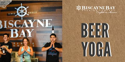Beer Yoga at Biscayne Bay Brewing Company