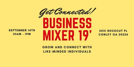 GWT Business Mixer 2019 tickets
